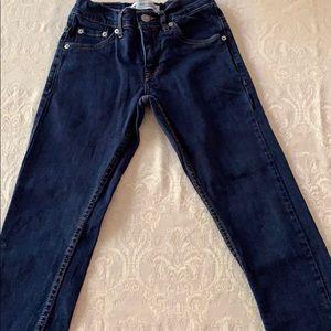 Boys size 8 regular Levi jeans